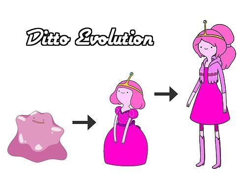 ditto evolution