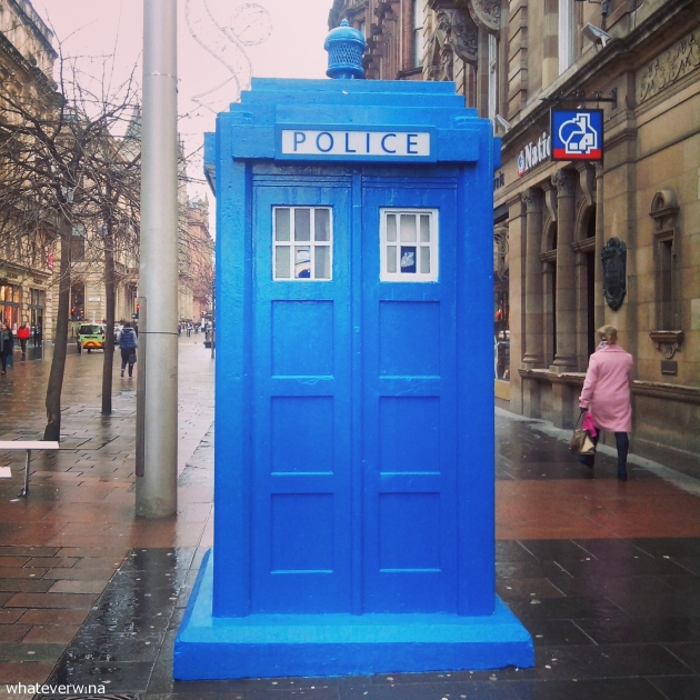 Glasgow Police Box Wina