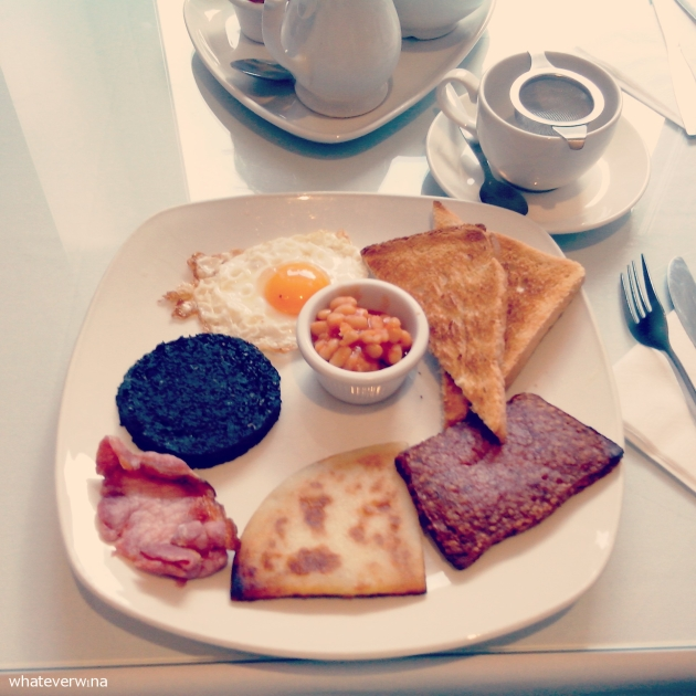 Scottish Breakfast Willow Tea Room Wina