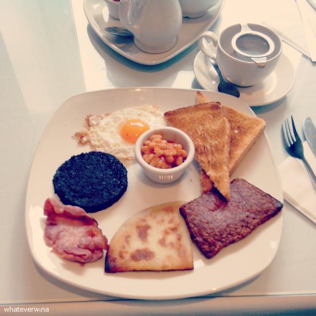 Scottish Breakfast Willow Tea Room Wina